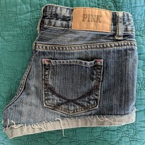 Victoria's Secret PINK Cuffed Denim Shorts